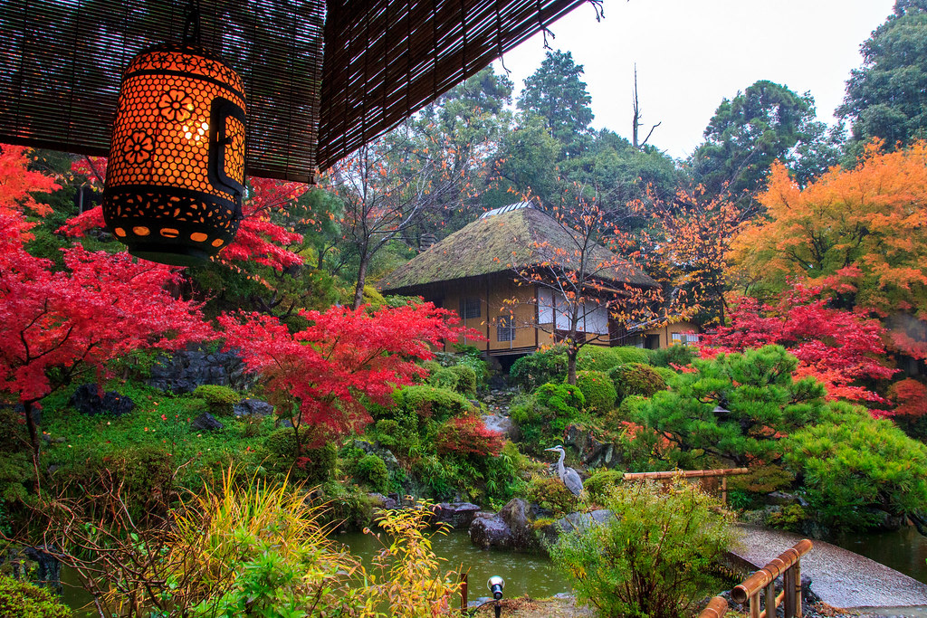 At The Buddhist Temple Japanese Garden Location Kiyomizu Flickr