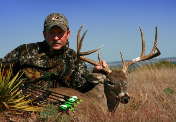 Texas Free Range Deer Hunt - San Angelo - Anlters and