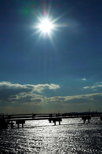 sky cloud sun nature sunshine japan bay xproii
