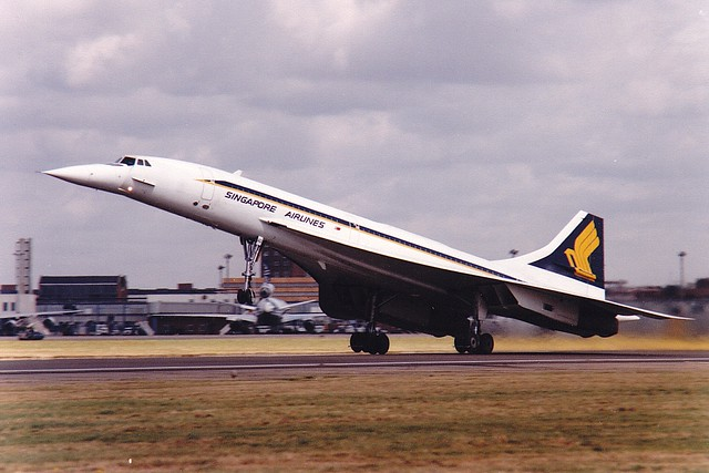Concorde G-BOAD London Heathrow