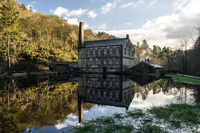 Gibson Mill, Hebden Bridge (Explored)
