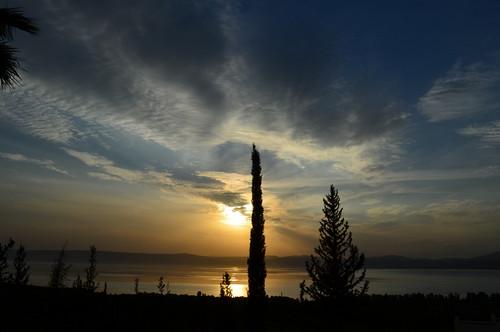 autumn sunset israel north 2012 skyevening