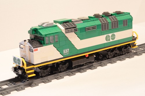 Lego GO Train F59PH Locomotive