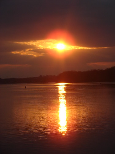 park sunset water rock river mississippi island fire illinois glow