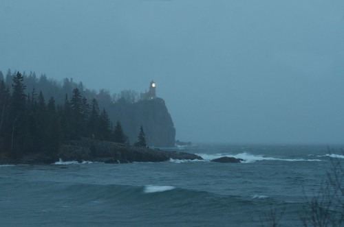 Split Rock Lighthouse - The Annual Lighting to Commemorate the Loss of the Edmund Fitzgerald | by pmarkham