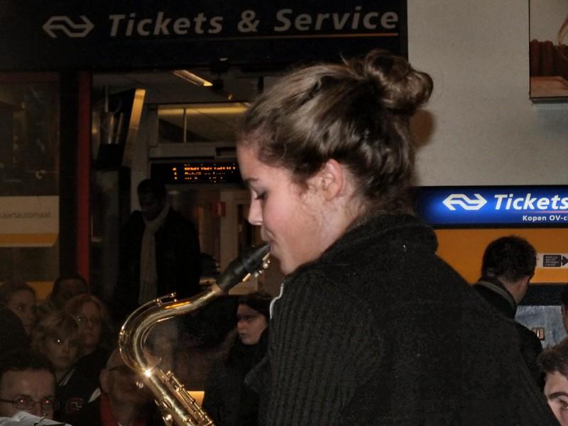 soliste op sax
