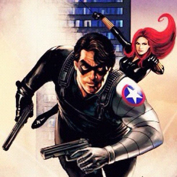 I have the Winter Soldier star tattooed on my upper left a