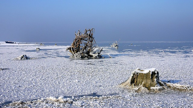 Turawa lake - first ice