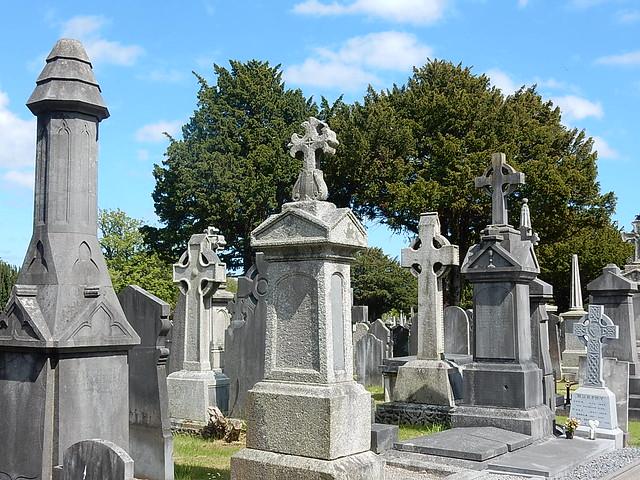 Celtic Cross Graves