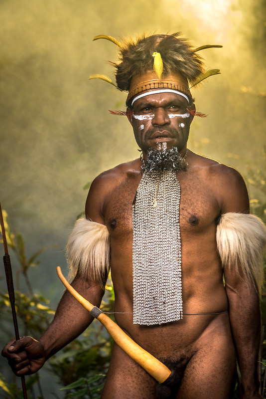 The Dani's Tribal Chief of Suroba Village