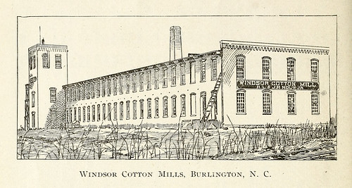industry burlington northcarolina textile cotton mills factories manufacturing alamancecounty ncpedia