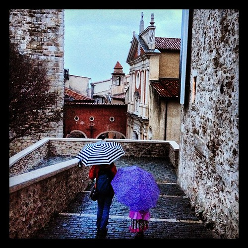 Braving the rain to visit Picasso's museum in #Antibes. | by Team Frosick