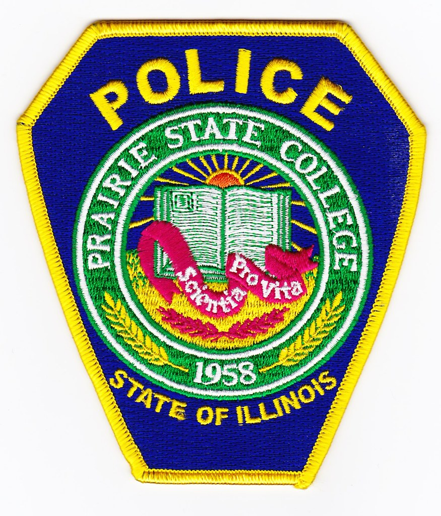 Prairie State College >> Il Prairie State College Police Department Patch For Wau Flickr