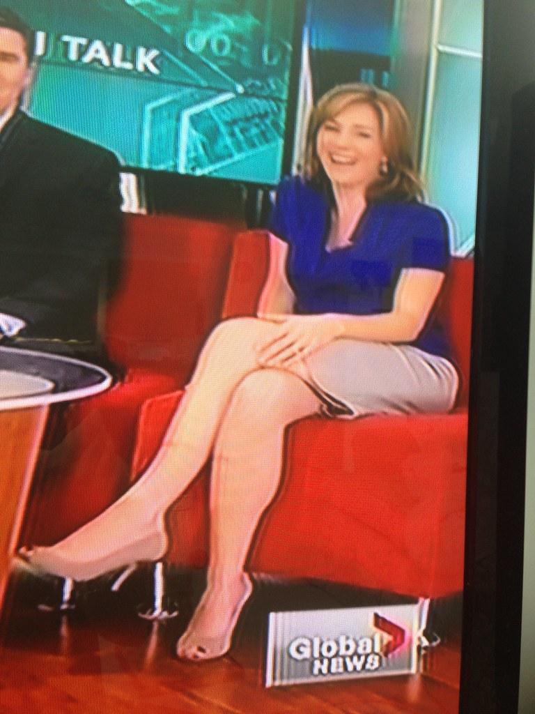 Kristi Gordon Legs | Global BC's Kristi Gordon and her sexy