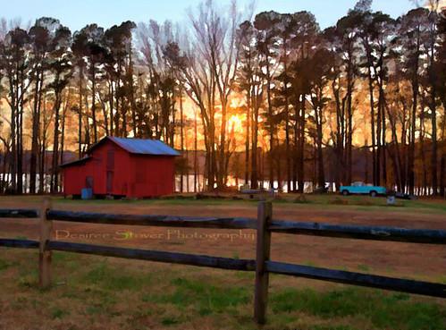 sunset lake barn effects nc ps5 lakebenson