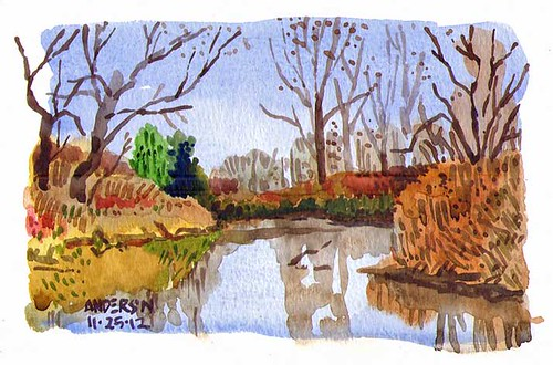 watercolor stlouis forestpark stlouisurbansketchesstlouis