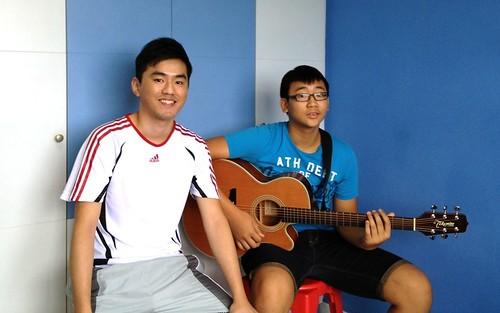 Private guitar lessons Singapore Reuben