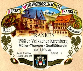 1988 - Volkacher Kirchberg (Franken)