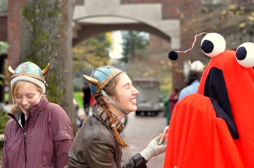 Spring/Fall Thesis Parade 2012 - Yip yip costume