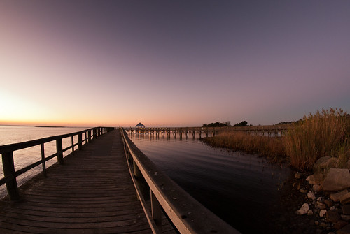 sunset usa color night sunrise colorful unitedstates florida south clear southern batterypark boardwalk fisheyelens apalachicola gulfcoast apalachicolabay theforgottencoast floridapanhandle