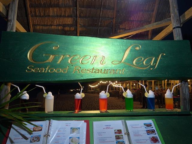 <p>a)お気に入りのローカルレストラングリーンリーフ</p>