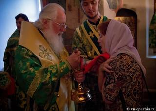Литургия в храме Сергия Радонежского 210