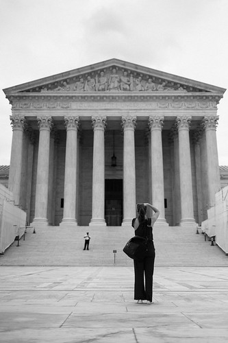 "Image titled ""Photographing, United State Supreme Court."""