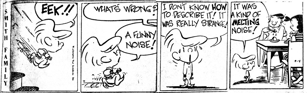 Smith Family Newspaper Cartoon Comic Strip 8554 | The Smith