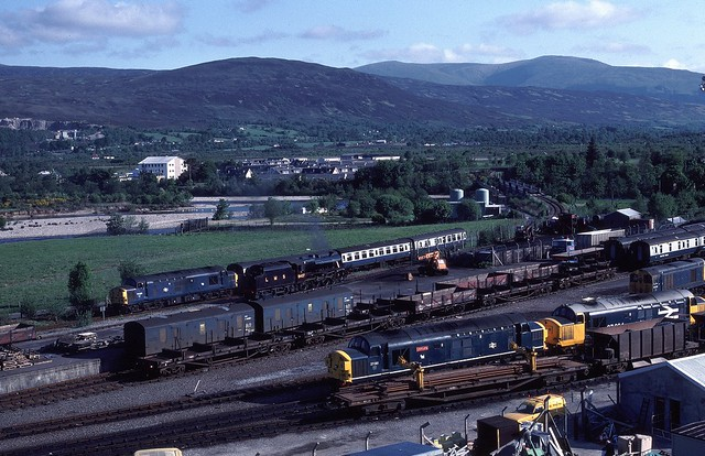 Fort William depot in the 1980s