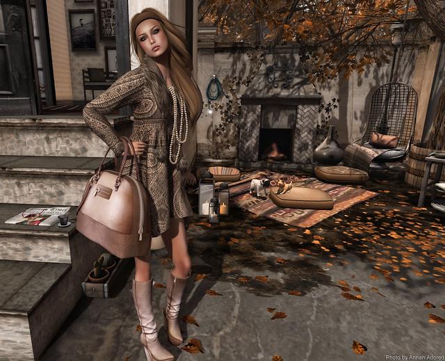 *LpD* ~ *Geena* Boots and Bag  & La Penderie de Nicole::My Musketeer Dress::