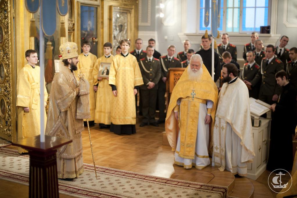 12 ноября 2012, Литургия с игуменом и братией монастыря Кутлумуш и солдатским хором
