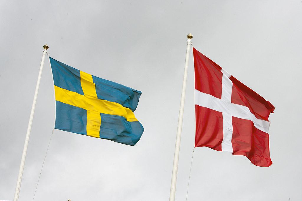 Svenska Danska Flaggorna 20110907 0366f Stockpholiocom Free