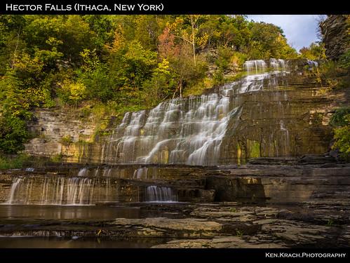 newyork water waterfall ithaca hectorfalls