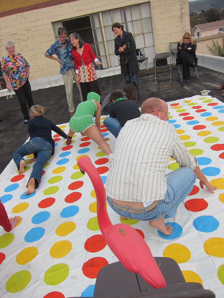 You can now play a gigantic game of Twister that takes up ...