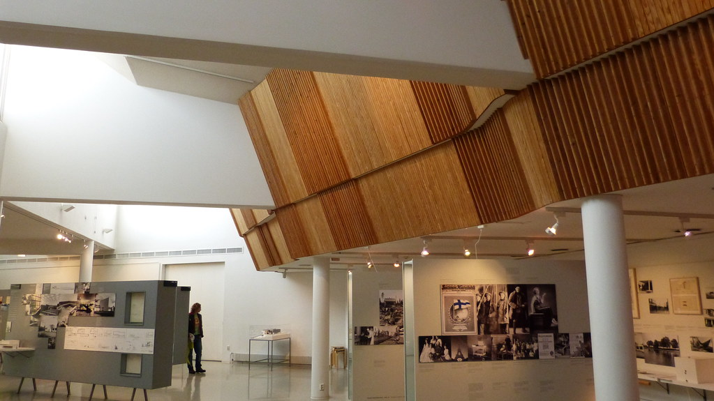 Alvar Aalto Museum Interior Finnish Pavillion Replica Flickr