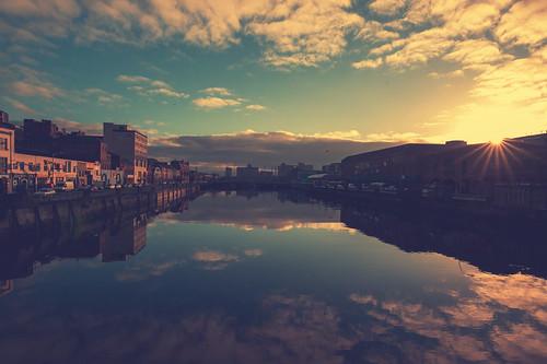 ireland art water sunrise river foot photo nikon alba cork fiume tokina lee irlanda flickrtravelaward tokina1628