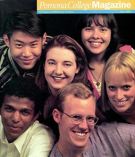 The Fall 1995 issue of Pomona College Magazine featured six members of the Class of 1999