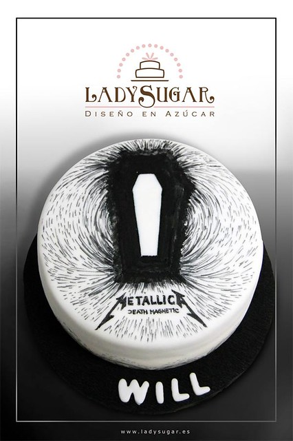 Metallica Death Magnetic cake