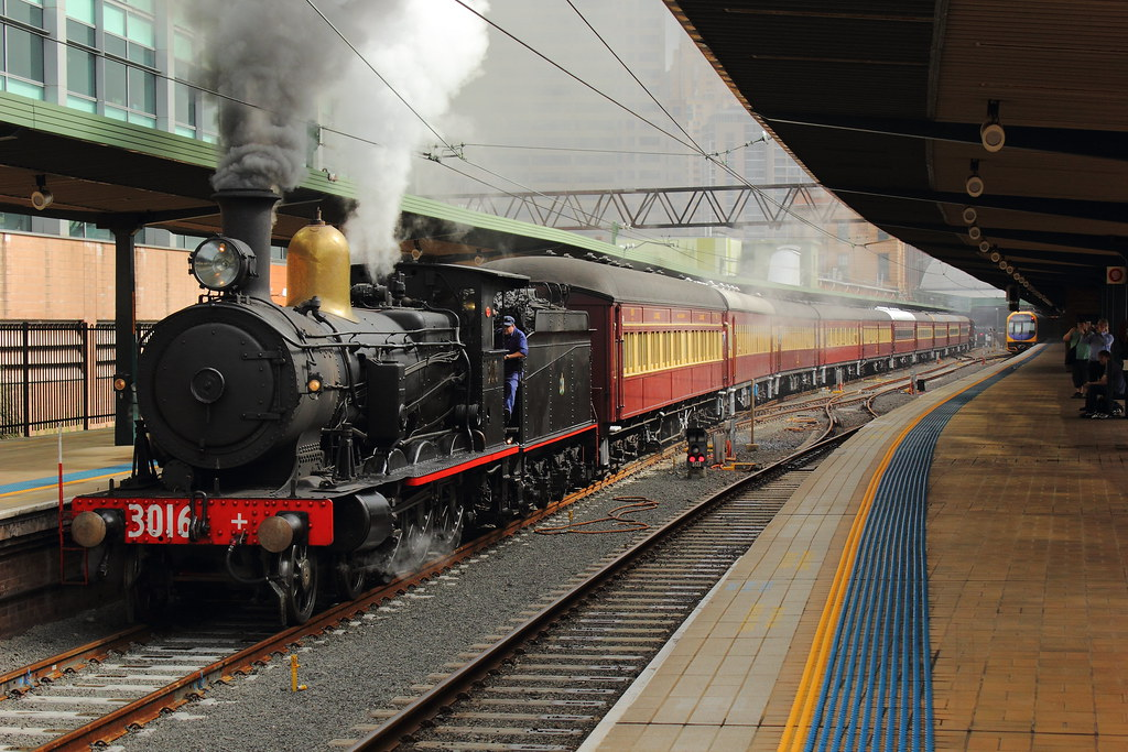 Central departure by stephen3830