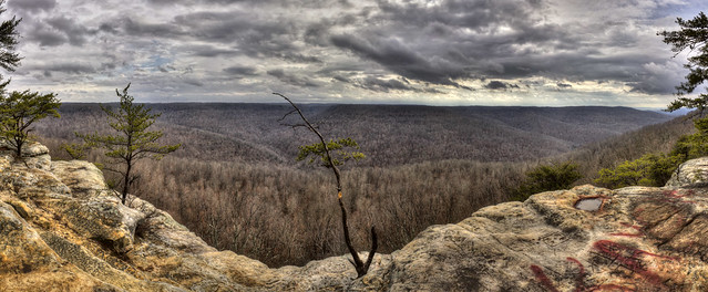 Bee Rock overlook, Putnam County, Tennessee 1