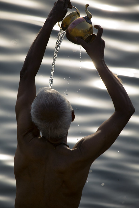 Morning Ablutions In The Ganges, Varanasi