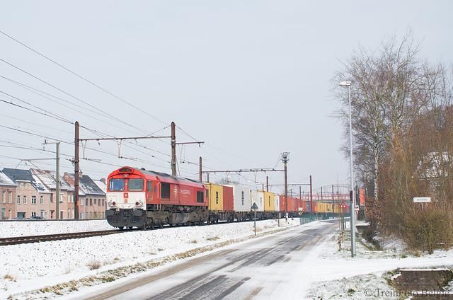 Crossrail DE6302 St.-Katelijne-Waver