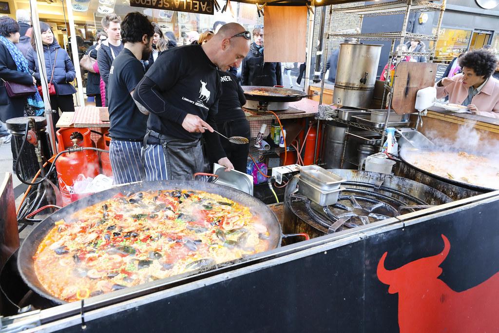 portobello market food options