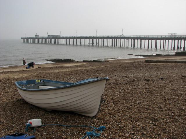 Felixstowe pier promenade