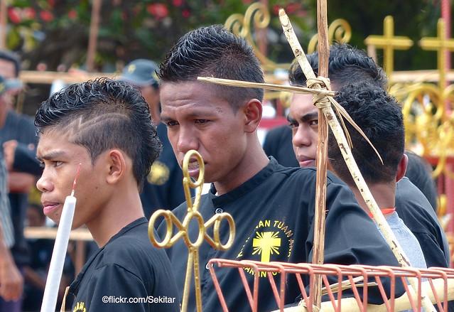 Good Friday - Prosesi Jumat Agung, Larantuka, Flores Timur, Indonesia