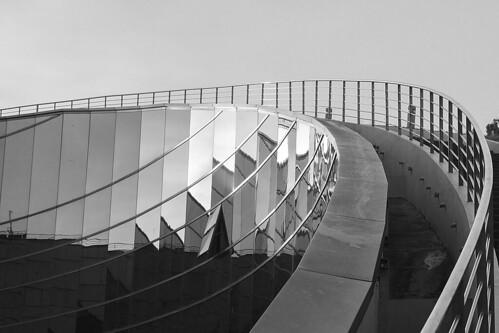 nanyangtechnologicaluniversity ntu singapore architecture blackandwhite shadows lights reflections structure metal glass sky
