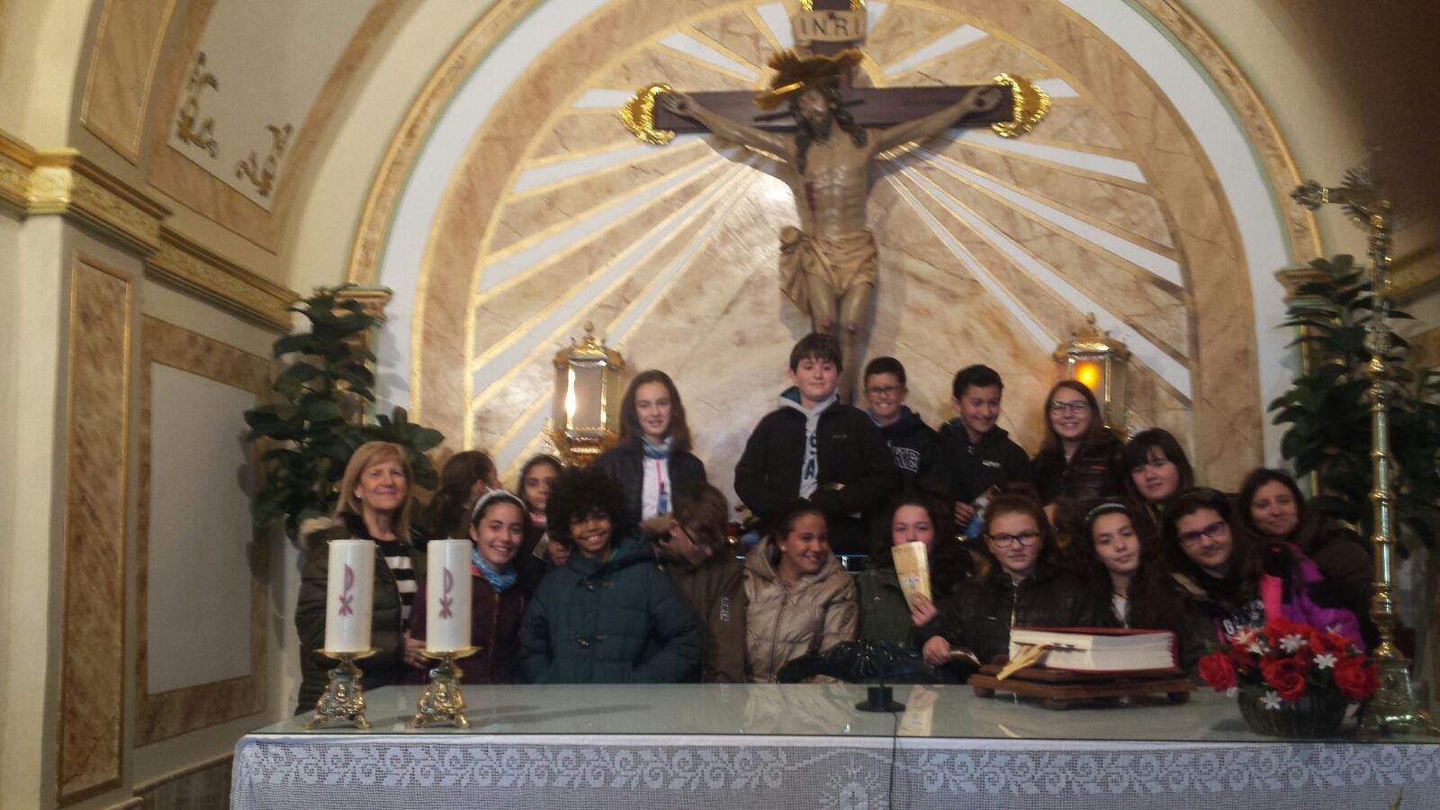(2018-03-19) - Visita ermita alumnos Yolanda,6º, profesora religión Virrey Poveda - Marzo -  María Isabel Berenguer Brotons - (02)