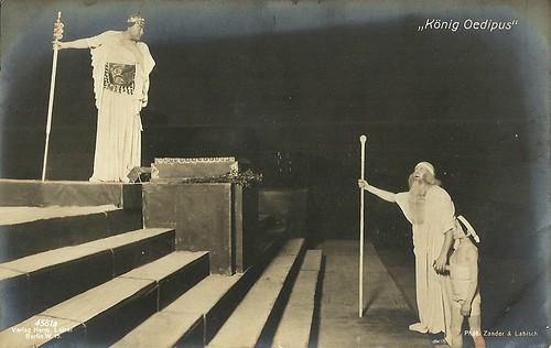 Paul Wegener in König Oedipus (1910)
