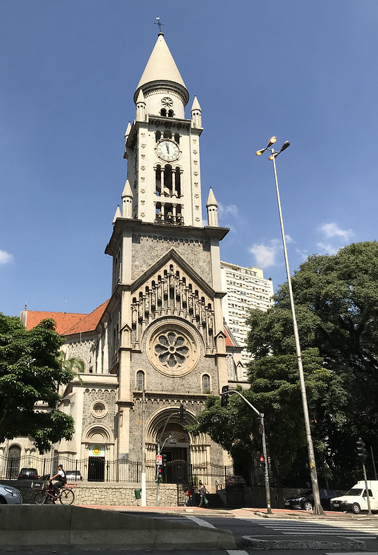 Parish of Our Lady of Consolation (1799), downtown São Paulo, Brazil.