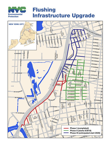 Infrastructure Upgrade in Flushing | by NYC Water